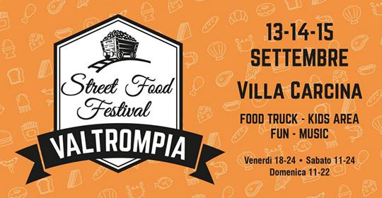 Valtrompia Street Food Festival a Villa Carcina