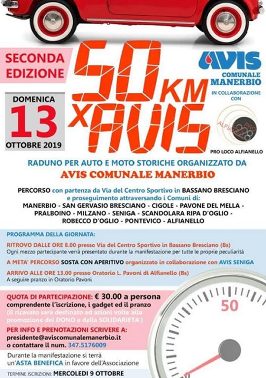 50 Km x Avis da Bassano Bresciano