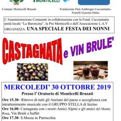 Castagnata e Vin Brulè a Monticelli Brusati