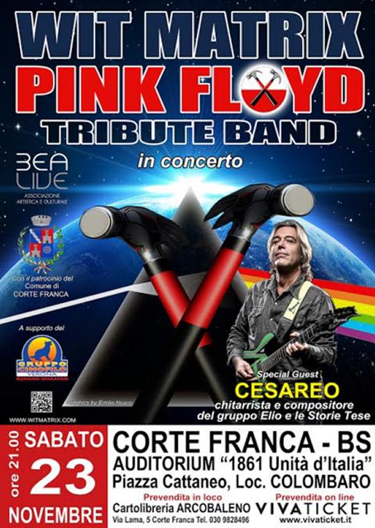 ConcertoTtributo ai Pink Floyd a Corte Franca