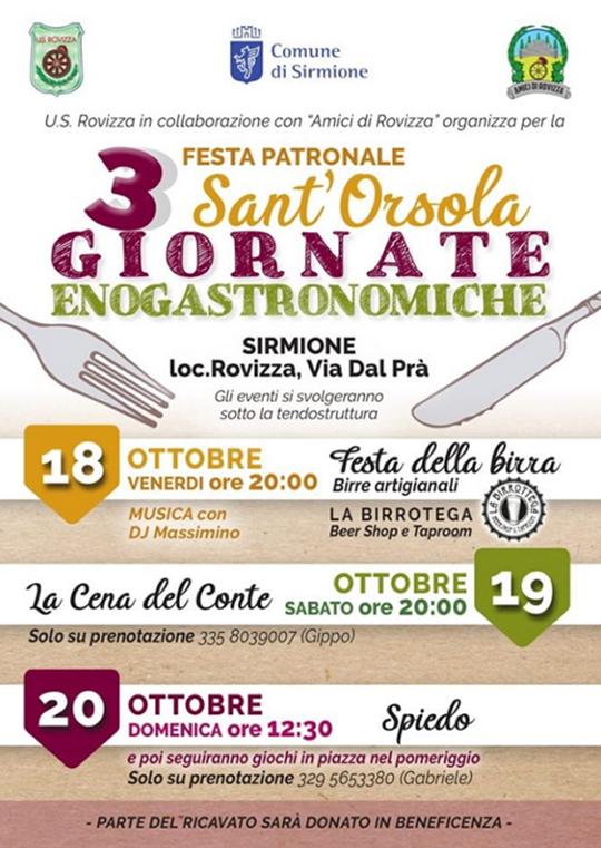 Festa Patronale Sant'Orsola a Sirmione