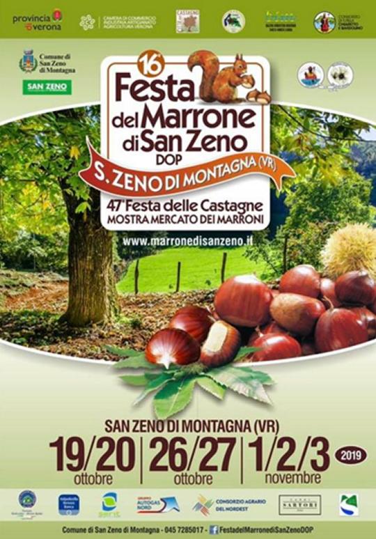 Festa del Marrone di San Zeno Dop a San Zeno di Montagna VR