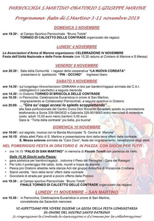 Festa di San Martino a Marone