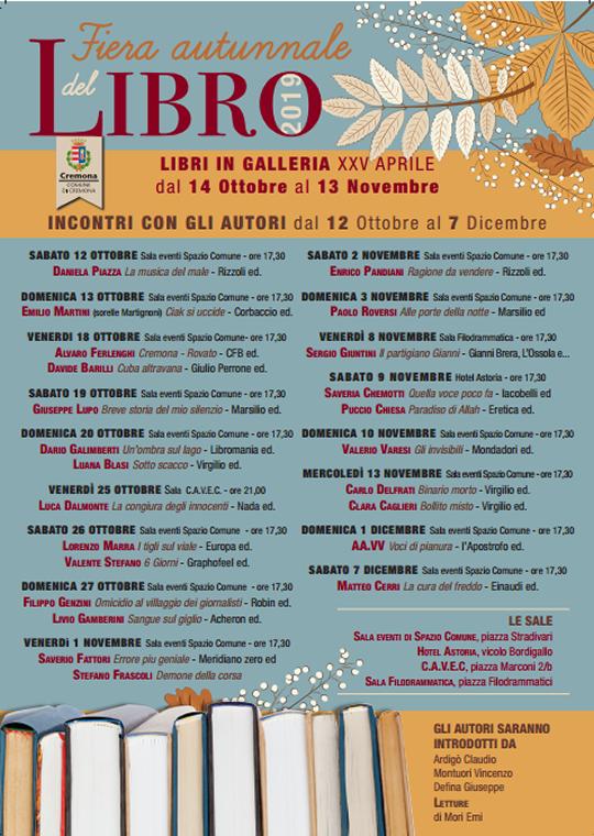 Fiera Autunnale del Libro a Cremona