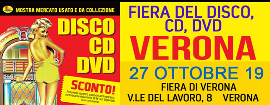 Fiera del Disco CD DVD a Verona