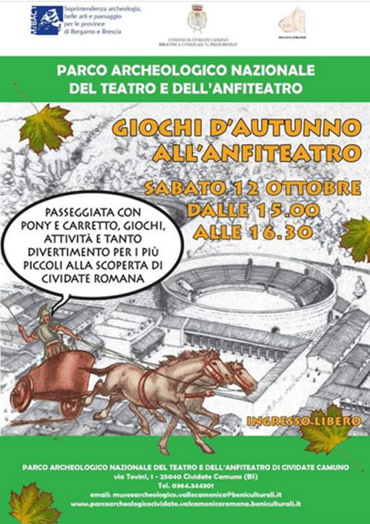 Giochi d'Autunno all'Anfiteatro a Cividate Camuno