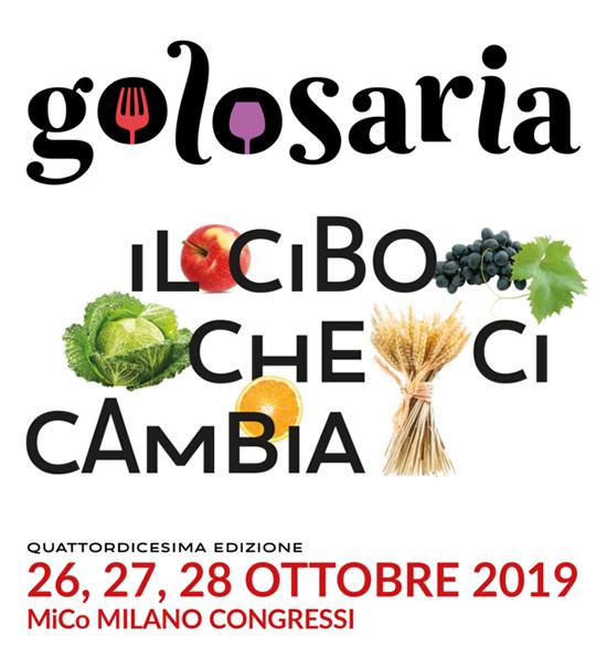 Golosaria 2019 a Milano