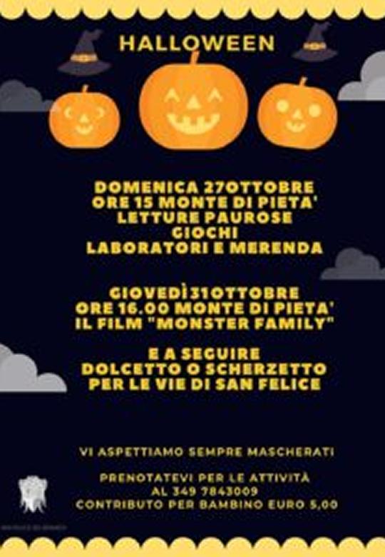 Halloween a San Felice