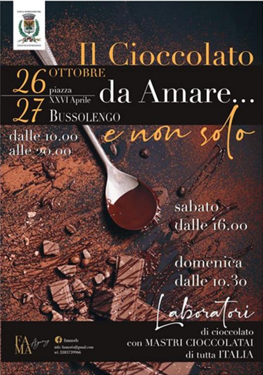 Il Cioccolato da Amare e non Solo a Bussolengo