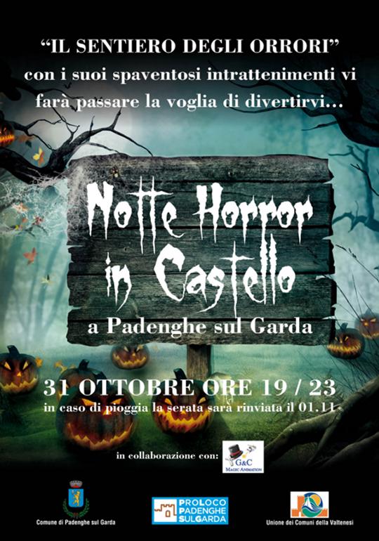 Notte Horror in Castello a Padenghe
