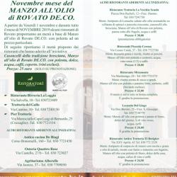 Novembre mese del Manzo all'Olio a Rovato