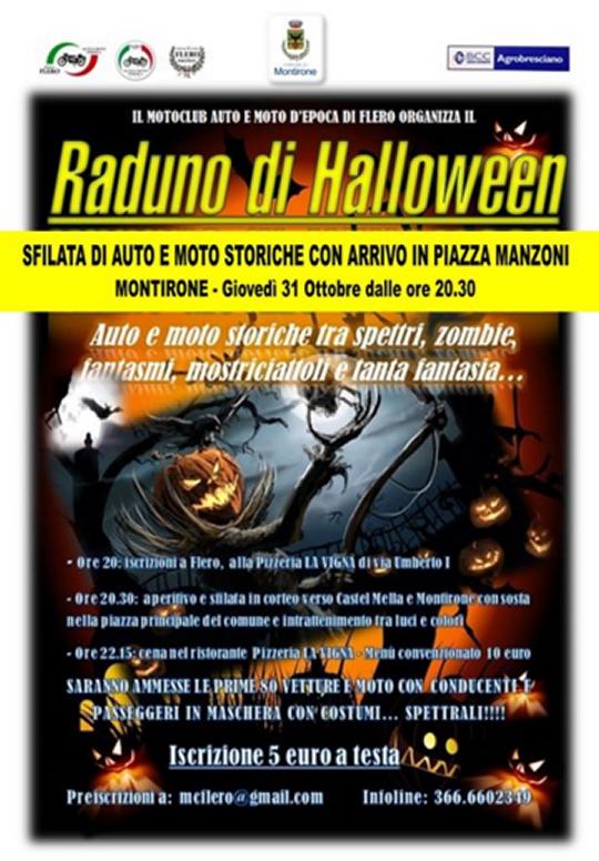 Raduno di Halloween a Montirone