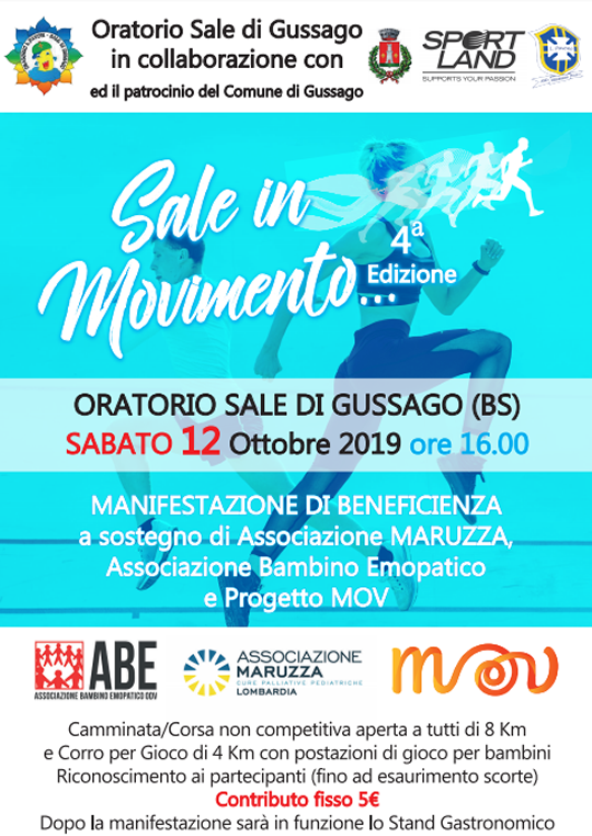 Sale in Movimento a Gussago