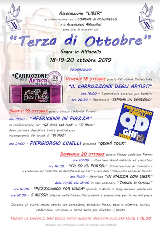 Terza di Ottobre ad Alfianello
