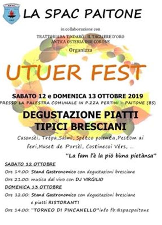 Utuer Fest a Paitone