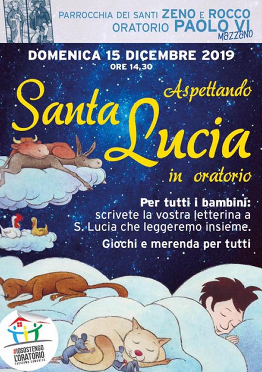 Aspettando Santa Lucia in Oratorio a Mazzano