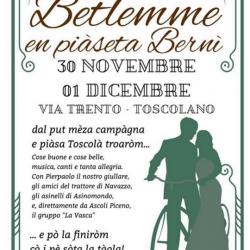 Betlemme en Piàseta Bernì a Toscolano Maderno