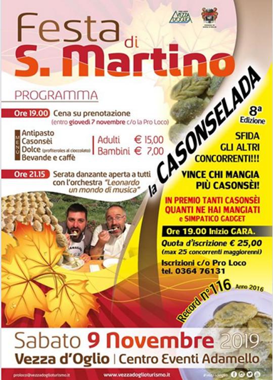 Festa di S. Martino a Vezza d'Oglio