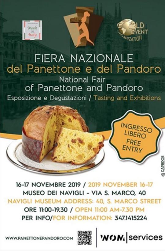 Fiera Nazionale del Panettone e del Pandoro a Milano