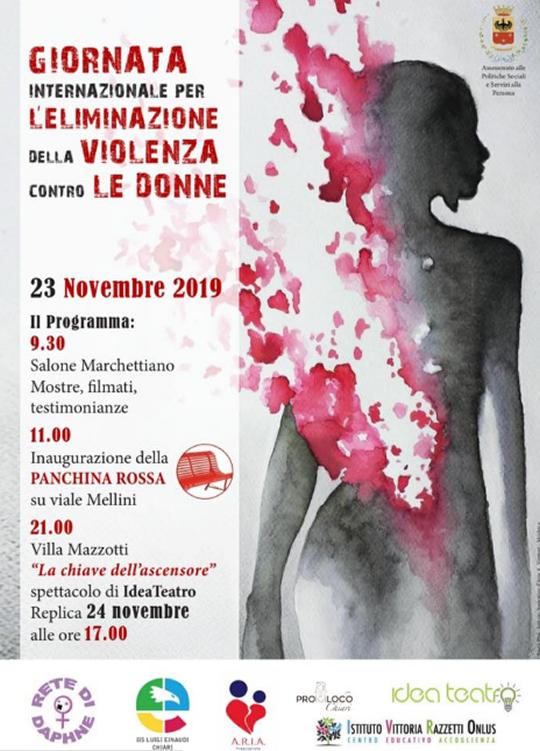 Giornata Internazionale per l'Eliminazione della Violenza Contro le Donne a Chiari