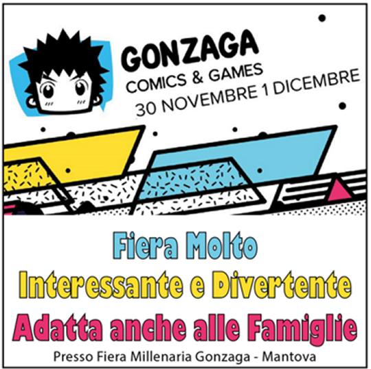 Gonzaga Comics and Games a Mantova