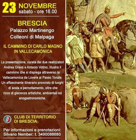 Il Cammino di Carlo Magno in Valle Camonica a Brescia