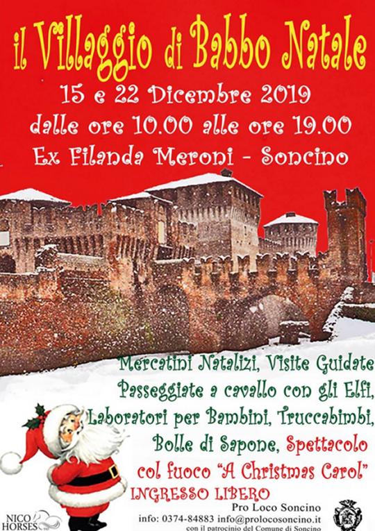 Il Villaggio di Babbo Natale a Soncino