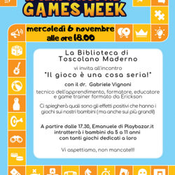 International Games Week a Toscolano Maderno