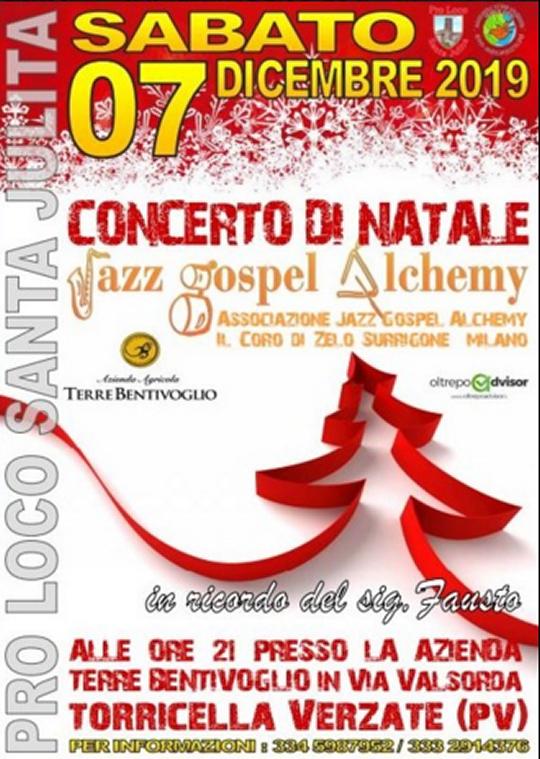 Jazz Gospel Alchemy a Torricella Verzate PV