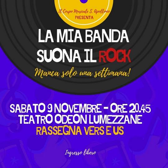 La mia banda suona il rock a Lumezzane