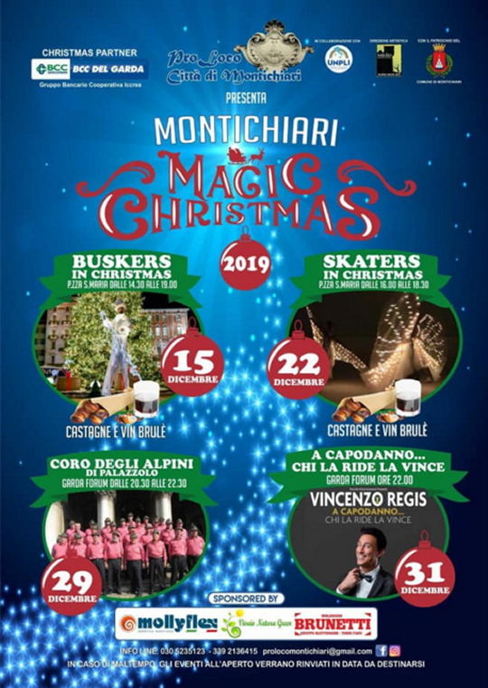 Magic Christmas a Montichiari