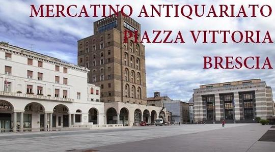 Mercatino dell'Antiquariato a Brescia