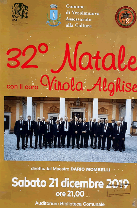 32 Natale con il Coro Virola Alghise a Verolanuva