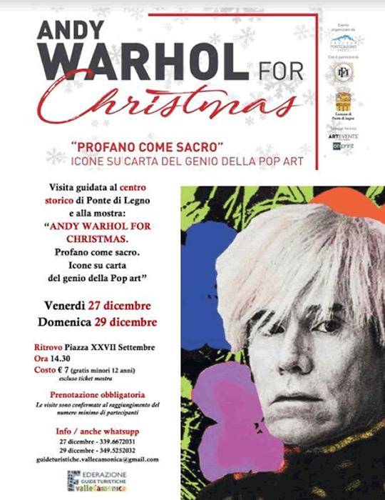 Andy Warhol for Christmas