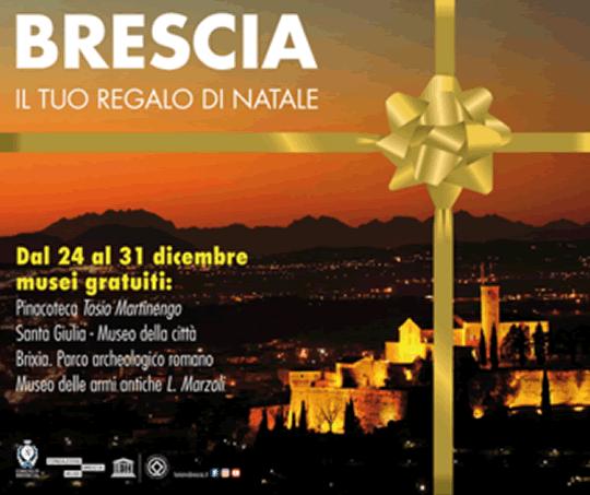 Brescia il Tuo Regalo di Natale