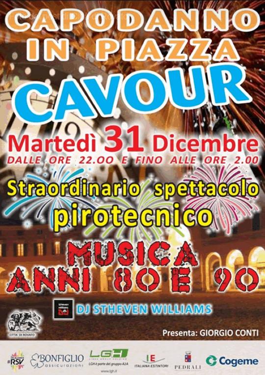 Capodanno in Piazza Cavour a Rovato