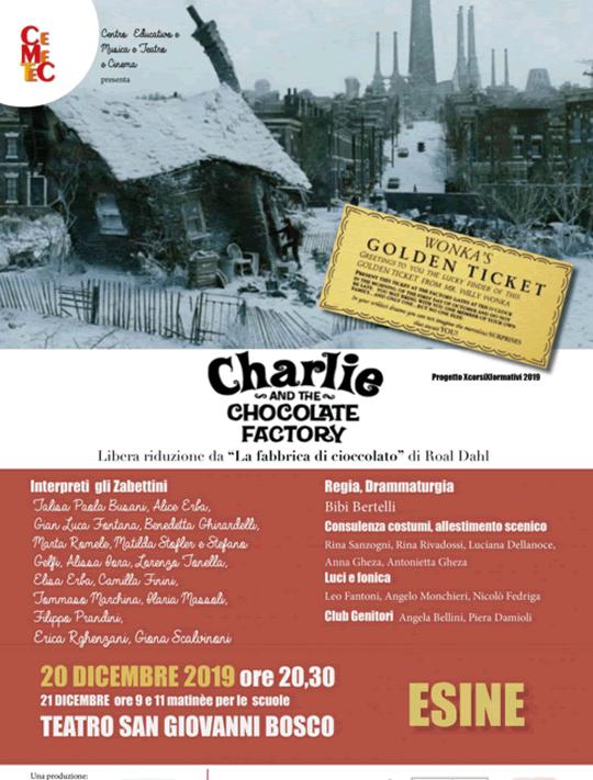 Charlie e la fabbrica di cioccolato a Esine