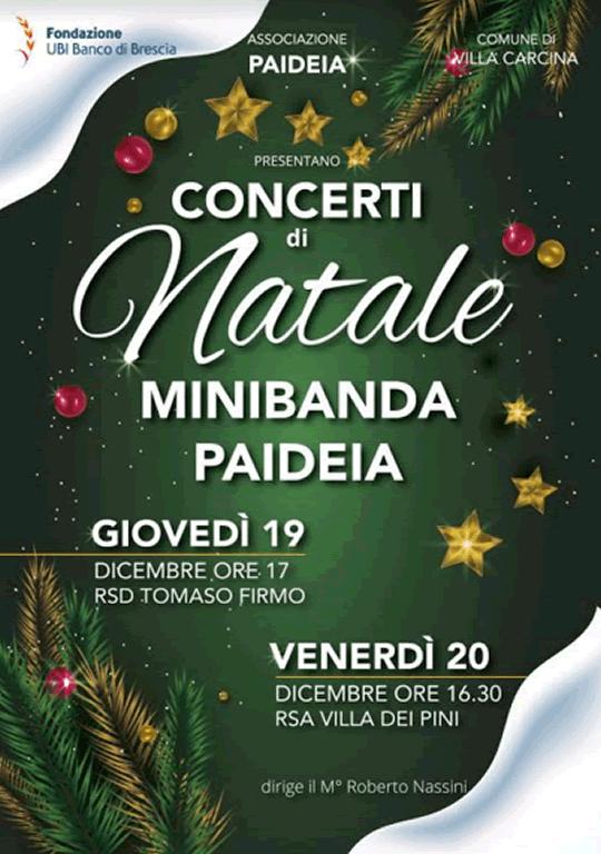 Concerti di Natale a Villa Carcina