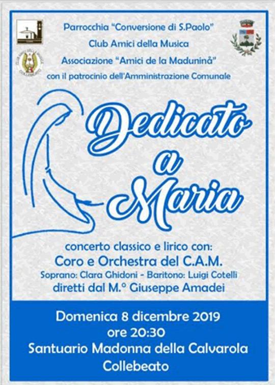 Concerto dedicato a Maria a Collebeato