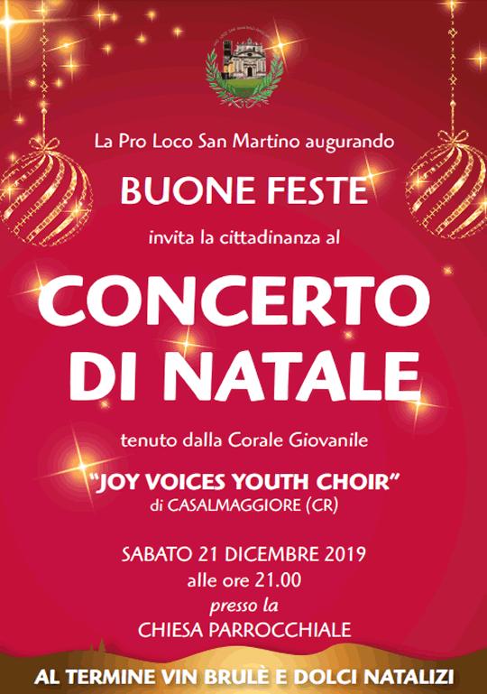 Concerto di Natale a San Martino dell'Argine MN