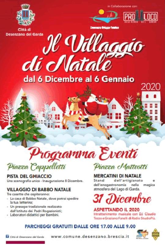 Il Villaggio di Natale a Desenzano del Garda