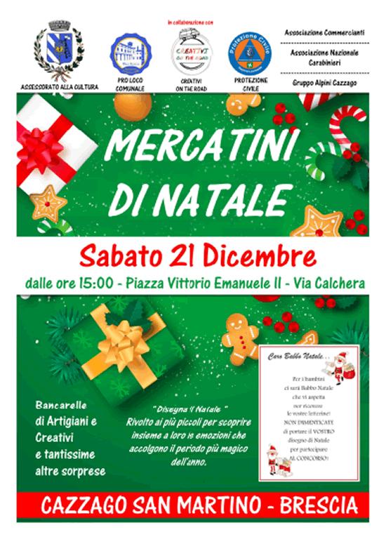 Mercatini di Natale a Cazzago San Martino