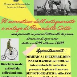 Mercatino dell'Antiquariato e Vintage a Remedello