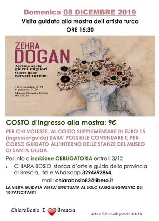 Mostra Zehra Dogan Brescia