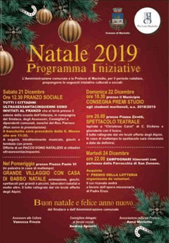 Natale 2019 a Maclodio