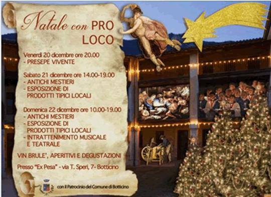 Natale con Pro Loco a Botticino