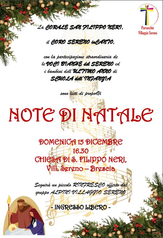 Note di Natale a Brescia