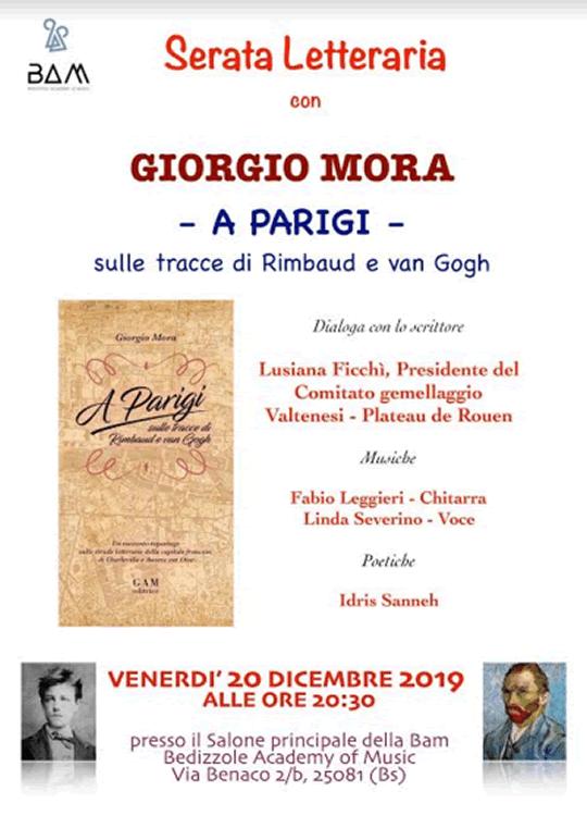 Parigi sulle tracce di Rimbaud e van Gogh a Bedizzole