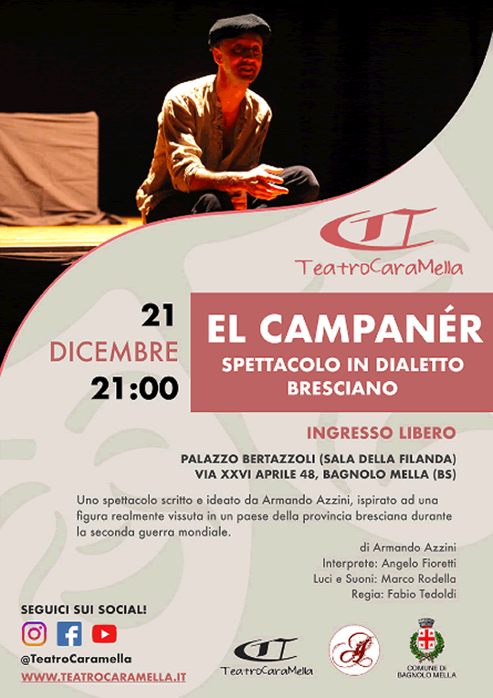 Spettacolo El Campanèr a Bagnolo Mella