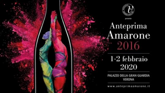 Anteprima Amarone 2016 a Verona